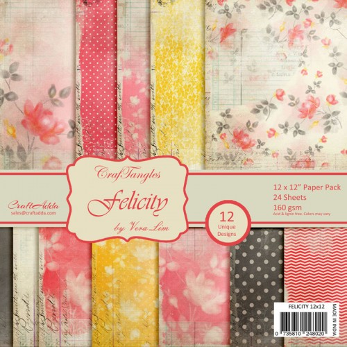 CrafTangles Patterned Papers